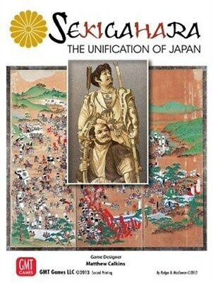 Sekigahara Board Game: The Unification Of Japan 4th Printing