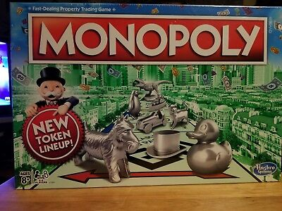 Monopoly The Classic Edition Traditional Family Fun Board Game New