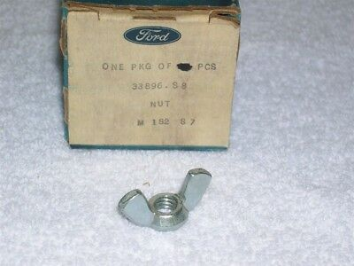 """NOS Ford Nut - Wing - 5/16""""-18 thread - 33896-S8 - Zinc"""
