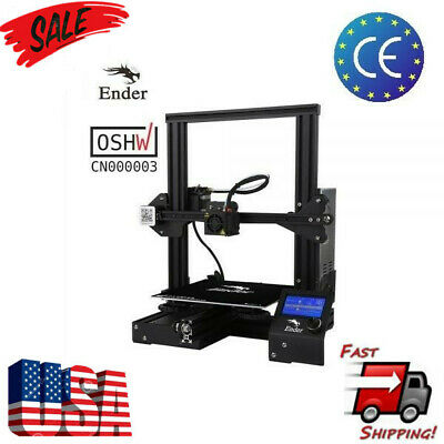 Creality Ender3 3D Printer Resume Print OSHW Certified DC 24V 15A 220x220x250mm