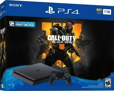 PlayStation 4 Slim 1TB Console - Call of Duty: Black Ops 4 Bundle in stock