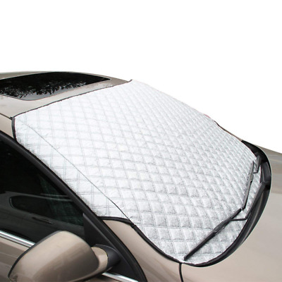 FREESOO Car Windscreen Frost Cover Snow Windshield Ice Dust Sun Shade Protector