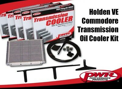 PWR Trans Oil Cooler kit HOLDEN VE V6/V8 '06-Aug'11 280x255x19mm 3/8barb PWO7267