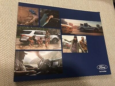 2019 FORD Full-Line (including The NEW RANGER) 36-page Original Sales Brochure
