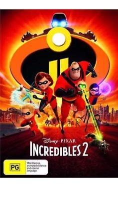 Incredibles 2 (DVD, 2018)