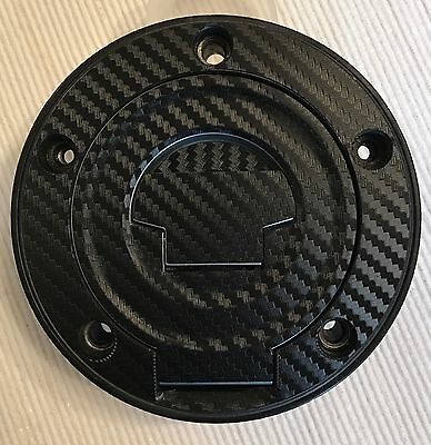 Yamaha YZF-R1 Carbon Look Fuel Cap Pad Sticker For YAMAHA Fits Multiple Models