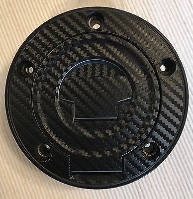 Yamaha YZF-R6 Carbon Look Fuel Cap Pad Sticker For YAMAHA Fits Multiple Models