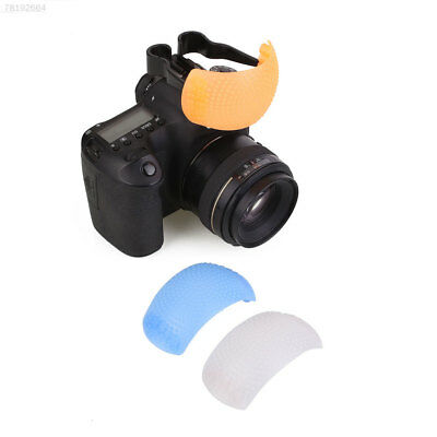 DC45 3 Color Puffer Pop-Up Flash Soft Diffuser Dome For Digital Camera Universal