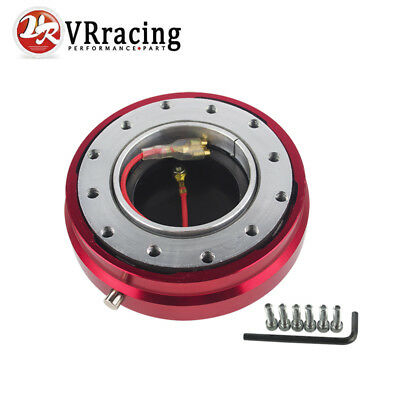 Thin Version Steering Wheel Quick Release Purple Hub Kit Adapter 6-Hole