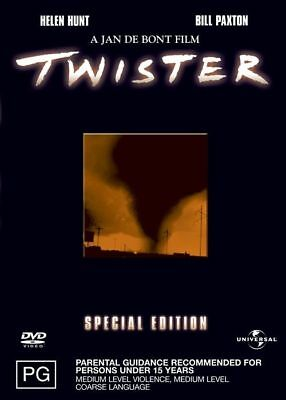 Twister (DVD, 2003) REGION: 2+4, NEW AND SEALED-FREE POST WITHIN AUSTRALIA