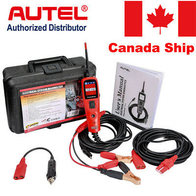 Canada Stock Autel PowerScan PS100 Electrical System OBD2 Diagnostic AVOmeter