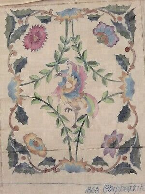 Beverley Trammed Tapestry : 1853 Chippendale Canvas Only 18 th Century Design