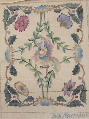Beverley Trammed Tapestry : 1853 Chippendale Canvas Only.18 th Century Design