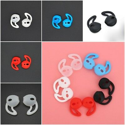 Multi Color Silicone Soft Skin Earbuds Cover Ear Phone For Apple iPhone 1 Pair