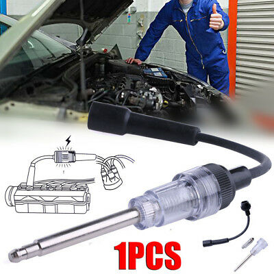 In Line Spark Plug Tester Ignition System Coil Engine Auto Diagnostic Test Tool