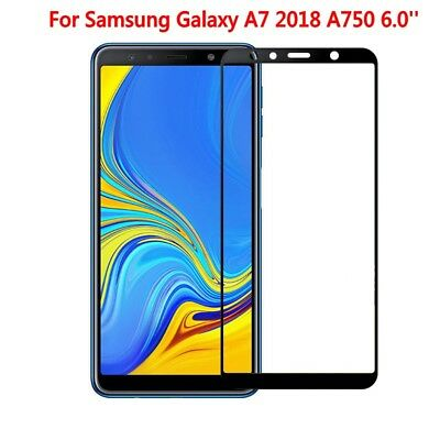 For Samsung Galaxy A7 2018/A750 3D Full Coverage Tempered Glass Screen Protector