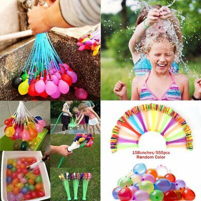 333 Fast Fill Magic Water Balloons Self Tying Water Bombs Summer Toys Outdoor