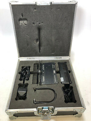 Litepanels battery and charger kit flight cased