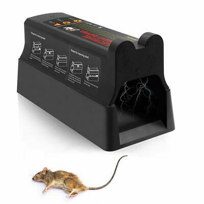 Electronic Mouse Rat Trap Rodent Killer Mice Zapper Pest Control US Plug 2018