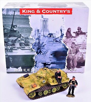 WS108 WWII German Panzer 1 Set & Great Condition Box By King and Country.