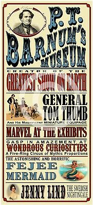 The Greatest Showman - P.T. Barnum's CIRCUS poster - 3 sizes available - repro
