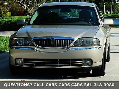 2004 Lincoln LS ONLY 64K MILES-FLORIDA 1-OWNER-LIKE 05 06 07  08 FLORIDA IMMACULATE-1-OWNER-DEPENDABLE-RECENTLY SERVICED-ABSOLUTELY NONE NICER