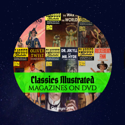 Classics illustrated - 235 Vintage Rare Comics on DVD - Classic Literary Novels