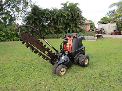 """Ditch Witch - Zahn - 48"""" Trencher Articulaing Steering 2 wheel drive"""