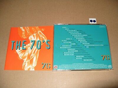 The 70's 1976 1994 Time Life 2 cd - cds are Ex+/Booklet very good +