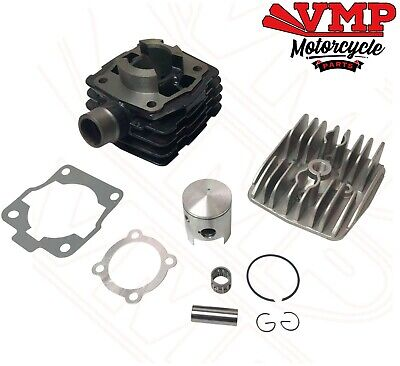 KTM SX50 50cc Top End Cylinder Kit Piston Barrel Gasket Head Rings Air Cooled