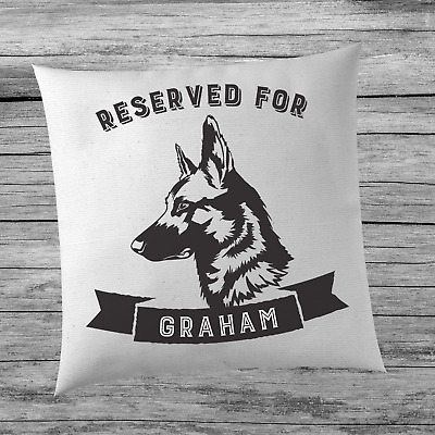 Large Personalised Dogs Cushion - Choose Your Dog - Home Living Room Bedroom