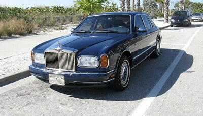 1999 Rolls-Royce Silver Seraph 16K Miles BLUE ONLY 16K MILES SERVICED CHROMED WHEELS LAMBSWOOL RECENT SERVICE   NEW WOW!