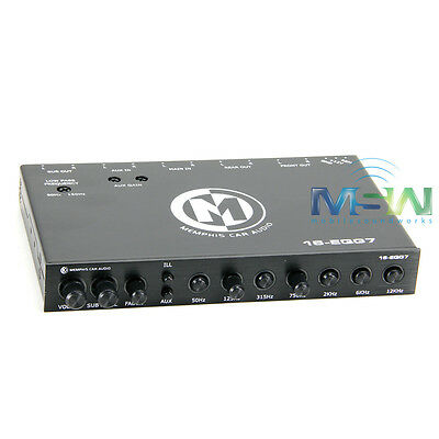 *new* Memphis Audio 16-Eqg7 Max 13V Input / 8V Output Seven Band Equalizer