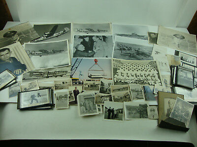 Vintage Lot Of Miscellaneous Military Photos WW1, WW2, Coast Guard, Peace Time