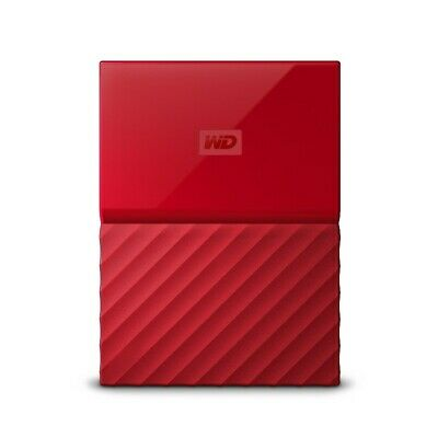 Western Digital My Passport 1TB USB 3.0 Portable Hard Drive WDBYNN0010BRD-WESN