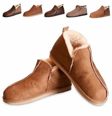 5e7f93bed88 Shepherd Ladies Genuine Sheepskin Slippers Boots Hard Sole Womens ANNIE 4922