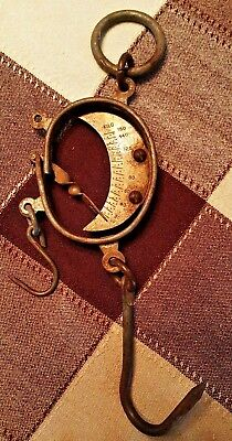 Vintage Iron & Brass Scale-Balance