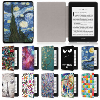 Ultra Slim Leather Smart Magnetic Case Cover For Amazon Kindle Paperwhite 2018