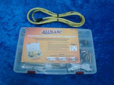 S.U.R. & R. Deluxe Fuel Pressure Tester Adapter Kit FPT290