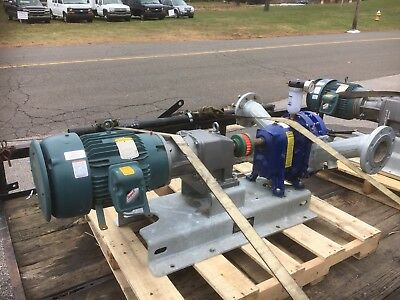 Vogelsang Rotary Lobe Pump with NordDrive and Baldor Motor