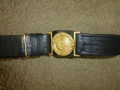 Vintage Civil War ERA USN adjustable belt - Reproduction - Inv. #212