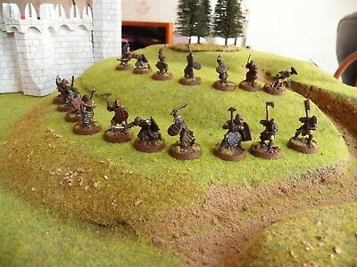 LOTR   Orc Warriors Qty (17)  Metal  T -27