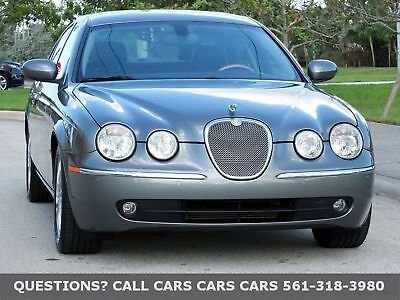 2006 Jaguar S-TYPE S-TYPE-3.0-ONLY 53K MILES-LIKE 03 04 07 08 09 10 FLORIDA FLAWLESS-1-OWNER-PARK ASSIST-SUNROOF-NEW MICHELINS-ABSOLUTELY NONE NICER