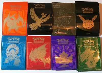 120 Assorted Pokemon Card/Deck Protector Sleeves inc. Charizard, Generations...