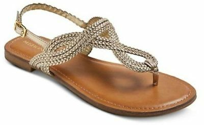 NEW Merona Jana Thong Gladiator Braided Sandal Slingback - Various Sizes/Colors!