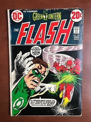 The Flash #222 (1973) 5.5 VG DC Key Issue Comic Book Bronze Age Green Lantern