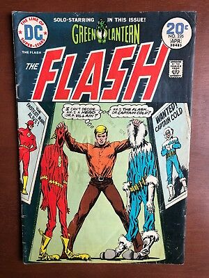 The Flash #226 (1974) 7.0 FN DC Key Issue Comic Book Bronze Age Green Lantern