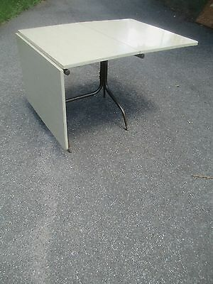 RARE drop leaf FORMICA dinette dining kitchen TABLE 1960 / 70's DELIVERY SERVICE
