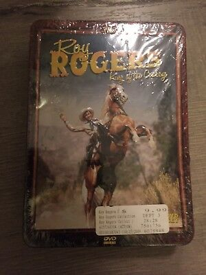 Roy Rogers King of the Cowboys Collectible Tin (2008 2 DVD set) New Unopened