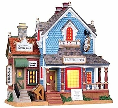 Lemax 85705 ROBIN'S ANTIQUE SHOP Retired Lighted Building Christmas Village I